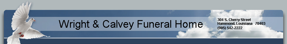 Wright & Calvey Funeral Home